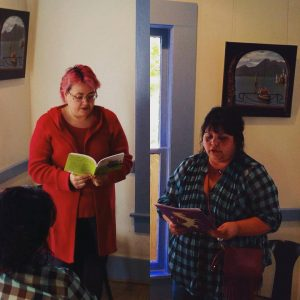 Houston writers Chantell Renee and Fern Brady share their poetry.